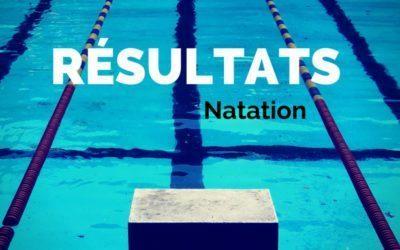 Encore des succès en natation!