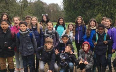 3 avril 2018 Les élèves de 6 D sont bien arrivés à Branféré !