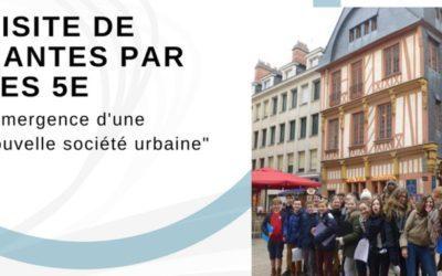 2017-2018 – Visite de Nantes par les 5e
